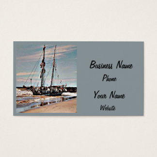 Abandoned Boat Business Card