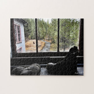 Abandoned Boots Jigsaw Puzzle