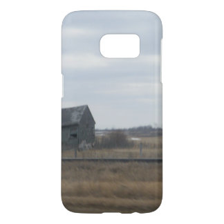 Abandoned Farmhouse Canadian Prairies Samsung Galaxy S7 Case