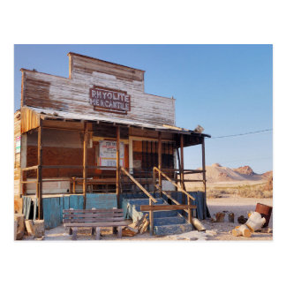 Abandoned General Store Postcard