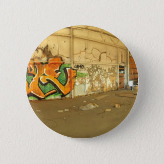 Abandoned Graffiti 2 Inch Round Button