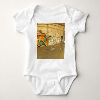 Abandoned Graffiti Baby Bodysuit