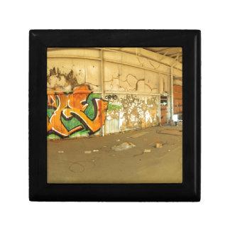 Abandoned Graffiti Keepsake Box