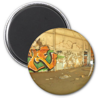 Abandoned Graffiti Magnet