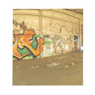 Abandoned Graffiti Notepad