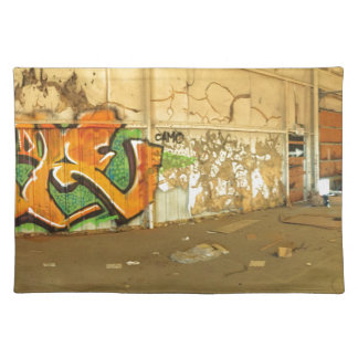 Abandoned Graffiti Placemat