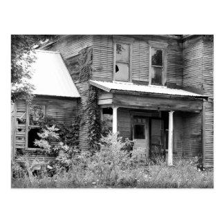 Abandoned Home Postcard