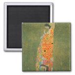 Abandoned Hope by Gustav Klimt Fridge Magnet