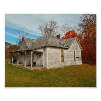 Abandoned House Photo Print
