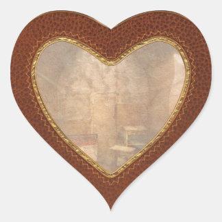 Abandoned - Life sentence Heart Sticker