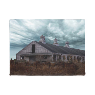 Abandoned New England Dairy Farm Doormat