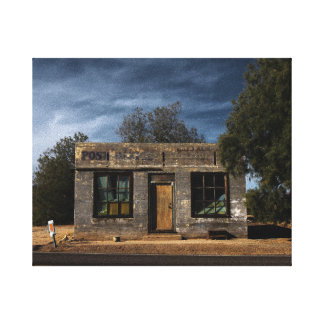 Abandoned Post Office in Kelso California Canvas Print