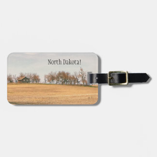 Abandoned Prairie Homestead In North Dakota #3B Luggage Tag