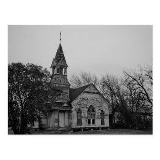 Abandoned Presbyterian Church - Post Card