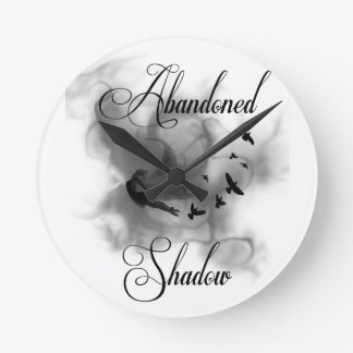 Abandoned Shadow Round Clock