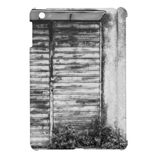 Abandoned shop forgotten bw iPad mini cover
