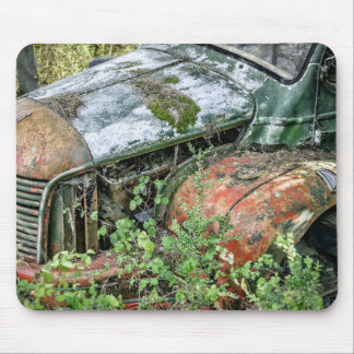Abandoned Vintage Truck Mouse Pad