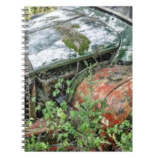 Abandoned Vintage Truck Spiral Notebook