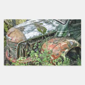 Abandoned Vintage Truck Sticker