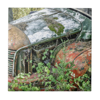 Abandoned Vintage Truck Tile
