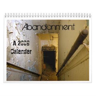 Abandonment 2009 Calendar