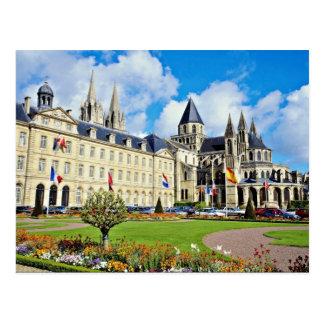 Abbaye Aux Hommes, Caen, Calvados, Normandy, Franc Postcard