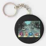 Abbey Road 8-Bit Keychain