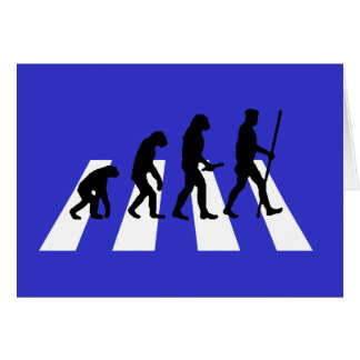 Abbey Road Evolution Greeting Card