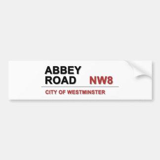 Abbey Road London England - vintage Bumper Sticker