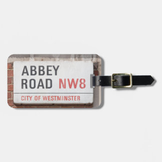 Abbey Road London Luggage Tag