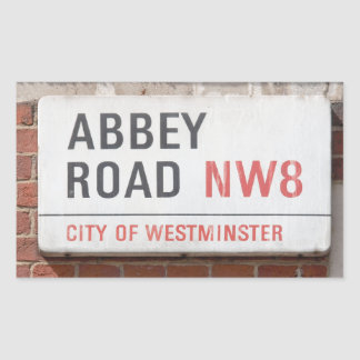 Abbey Road London Sticker