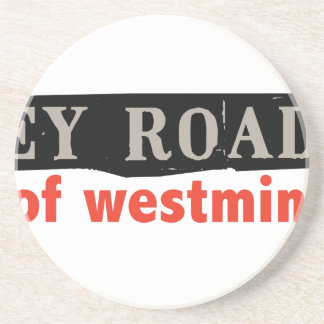 Abbey Road Westminster Beverage Coaster