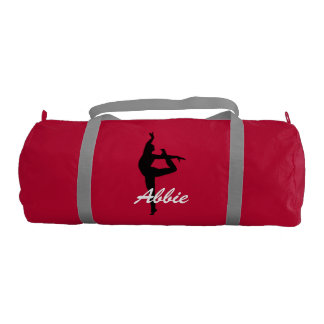 Abbie personalized duffle gym bag