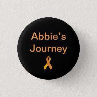 Abbie's Journey Badge 1 Inch Round Button