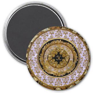 Abbigail Edeline Victorian Monogram  Magnet