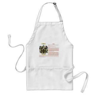 Abbott (english(meaning)) standard apron