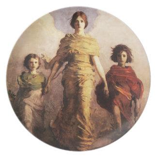 Abbott Handerson Thayer A Virgin Plate
