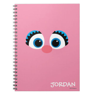Abby Cadabby Big Face | Add Your Name Notebooks