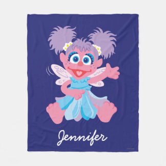 Abby Cadabby Fairy | Add Your Name Fleece Blanket