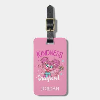 Abby Cadabby - Kindness is Magical Bag Tag