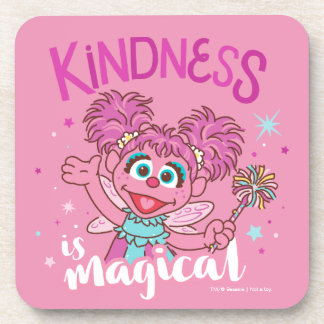 Abby Cadabby - Kindness is Magical Coaster