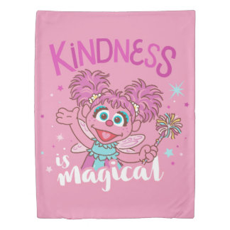 Abby Cadabby - Kindness is Magical Duvet Cover