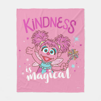 Abby Cadabby - Kindness is Magical Fleece Blanket