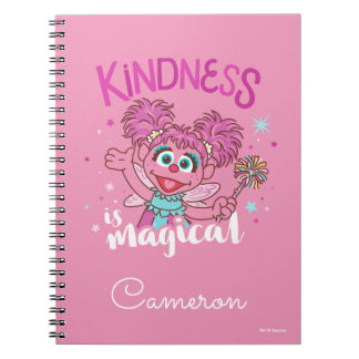 Abby Cadabby - Kindness is Magical Notebook