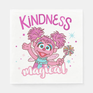 Abby Cadabby - Kindness is Magical Paper Napkin