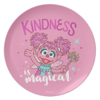 Abby Cadabby - Kindness is Magical Plate