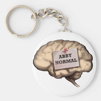 Abby Normal Brain Key Chain