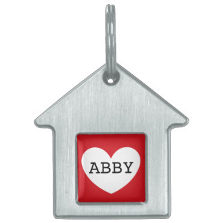 ❤️   ABBY pet tag by DAL