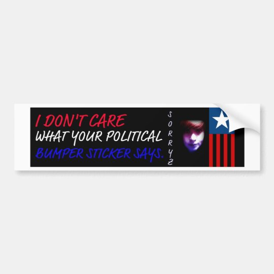 Abby's Political Bumper Sticker
