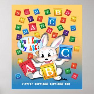 """""""ABC"""" 28"""" x 20"""", Poster (Matte)"""